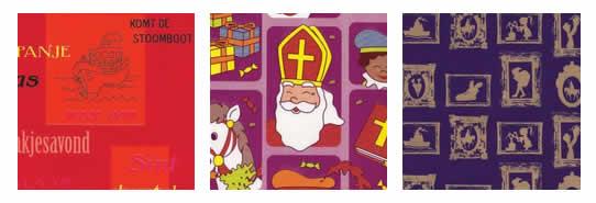 Sinterklaas kadopapier | Leverbaar in vele dessins